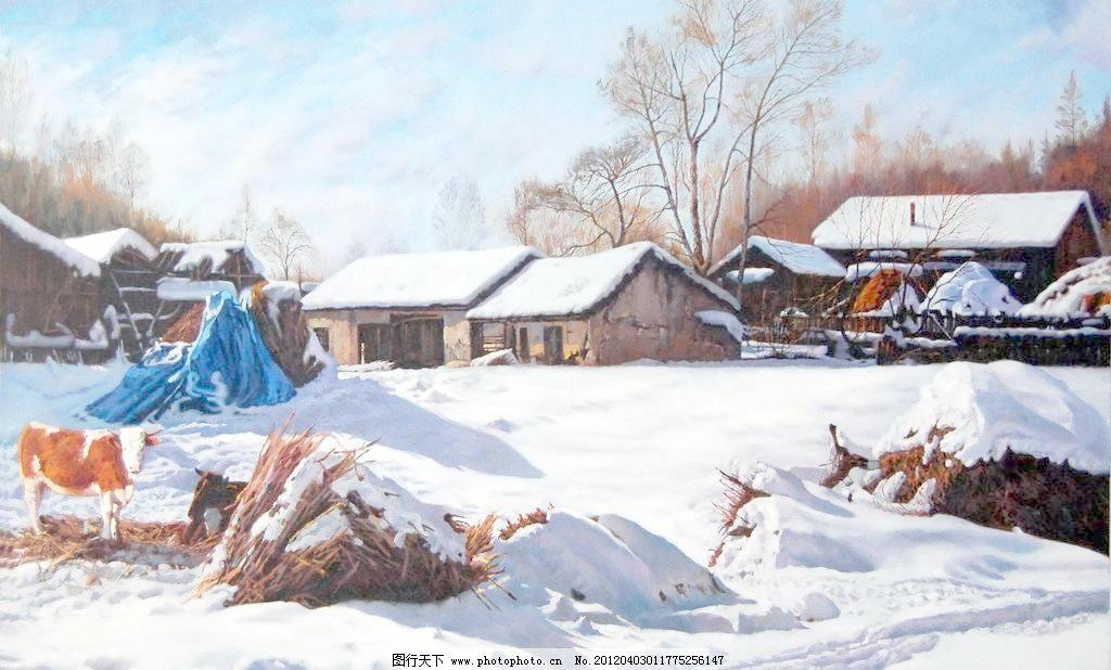 风景油画 油画 油画风景 绘画 艺术 设计 油画作品 大师作品 当代艺术