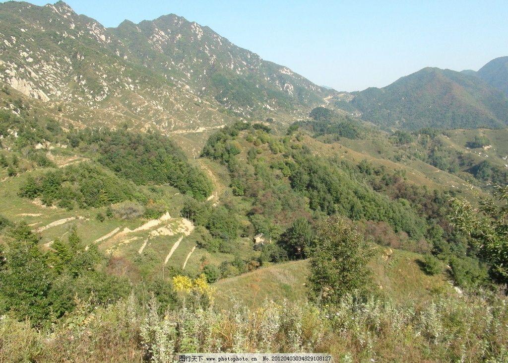 秦岭山脉图片