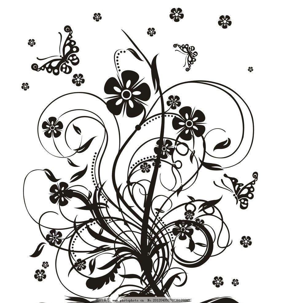 蝴蝶与花 花丛中的蝴蝶图片
