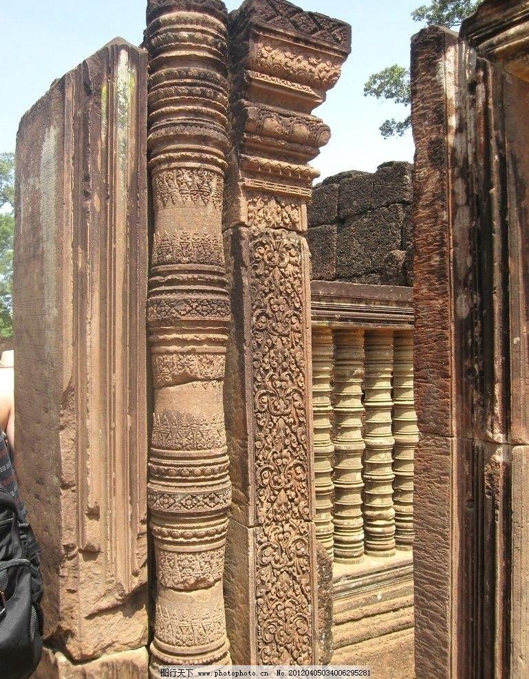 泰国 遗址 古建筑/泰国古建筑遗址图片