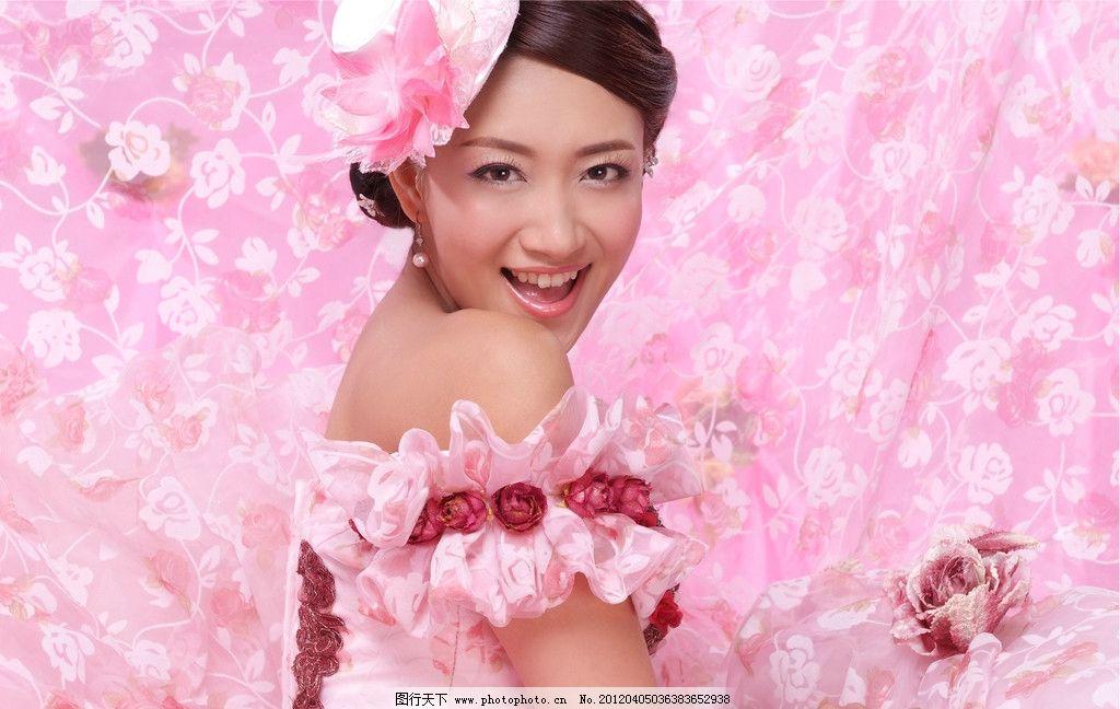 粉色映画 婚纱样片 影楼 摄影 婚纱照 美女 模特 唯美 时尚