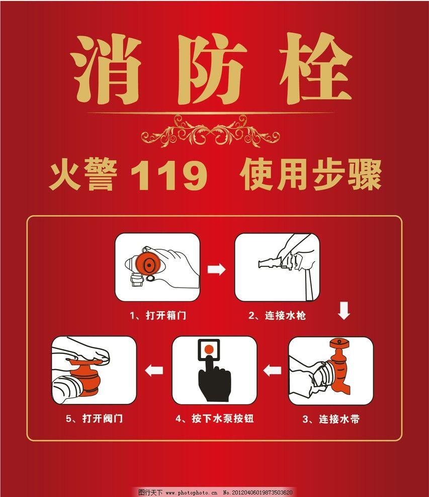 消防栓使用步骤图片