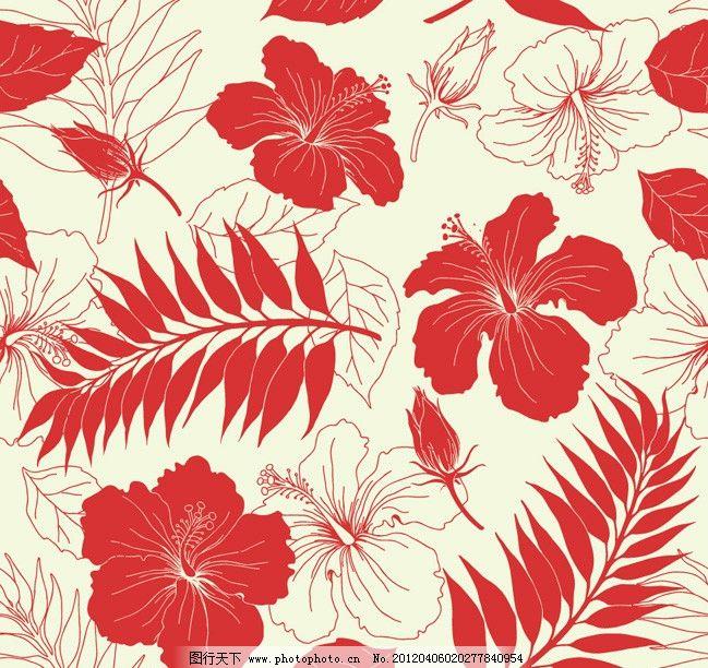 古典花卉花纹背景 花边 花朵 纹样 复古 怀旧 底纹 欧式 时尚