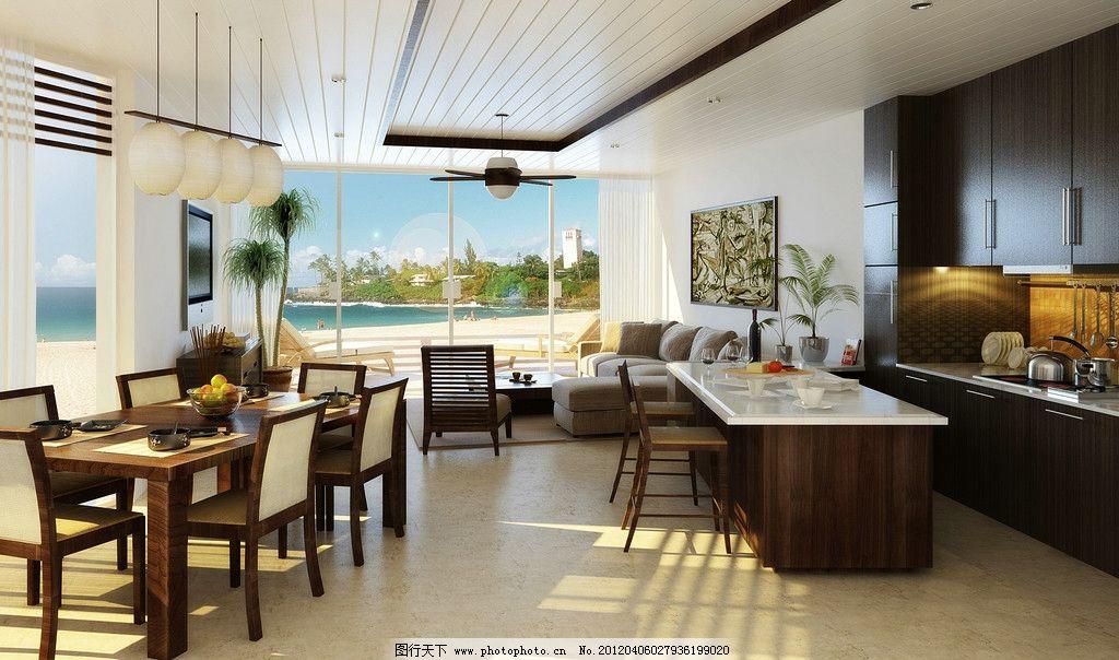 古樸客廳 餐廳 吊頂 柜子 外景 廚房柜 室內設計 環境設計 設計 300