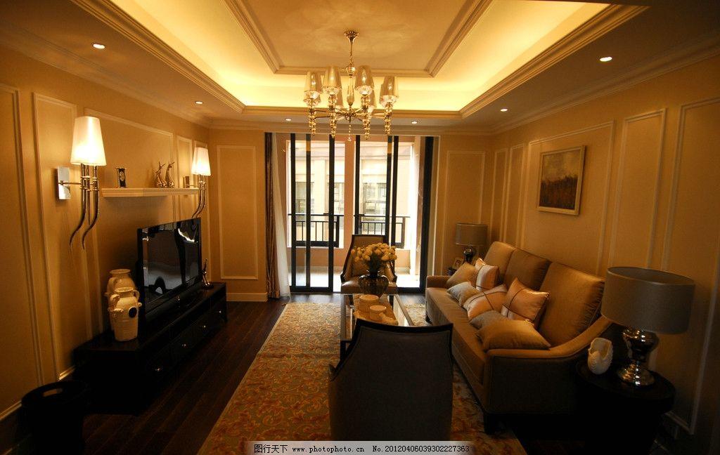 沙发 艺术品 会客厅 会所 别墅样板房 房地产样板房 欧式装修 室内