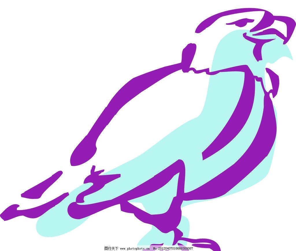 白鸽的简笔画法步骤