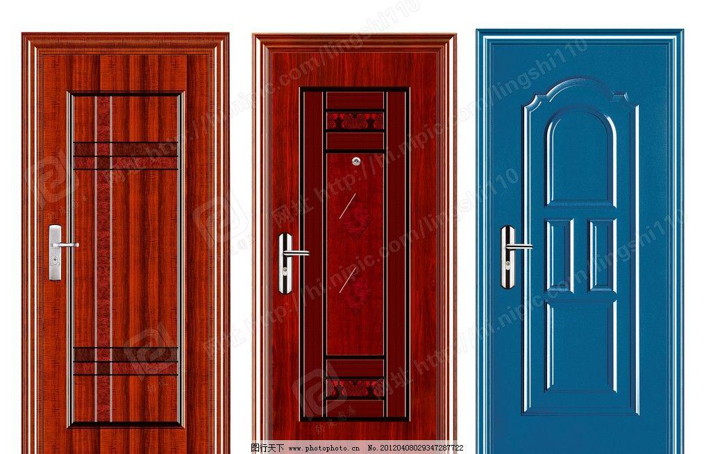 钢质门 深拉伸门 钢木门 效果图 实木门 复合门 强化门 模压门