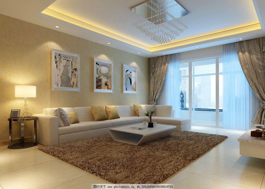 欧式客厅效果图 室内客厅效果图 室内设计 建瓯设计 包厢      餐厅