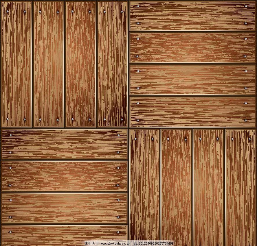 木纹木板背景 木纹 木板 怀旧 纹理 背景 底纹 底图 矢量 木纹木板