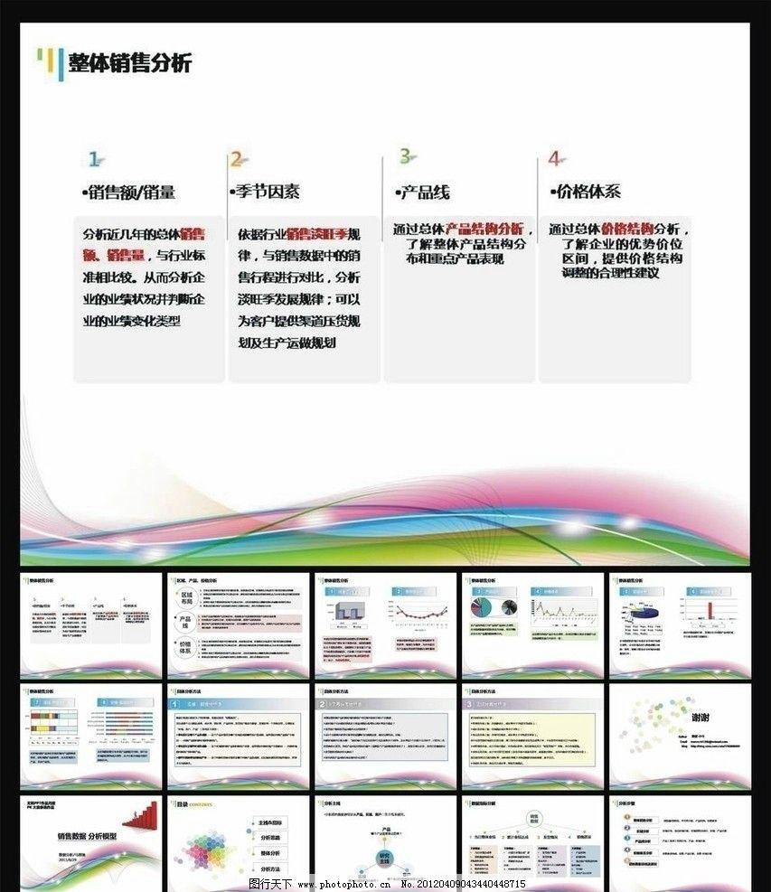 企业销售ppt模板 ppt 模板 ppt销售手册 年终 ppt设计 工作报告 新年