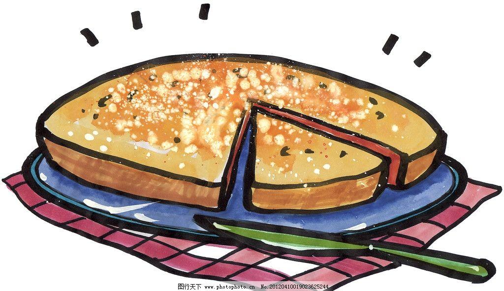手绘煎饼图片