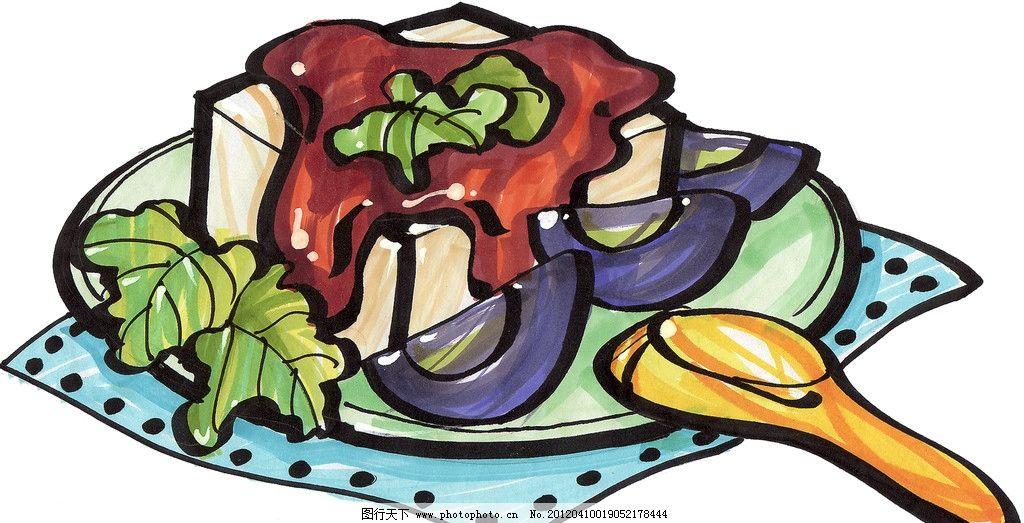 手绘美食 马克笔手绘美食 餐饮美食 手绘效果美食图 手绘 手绘美食