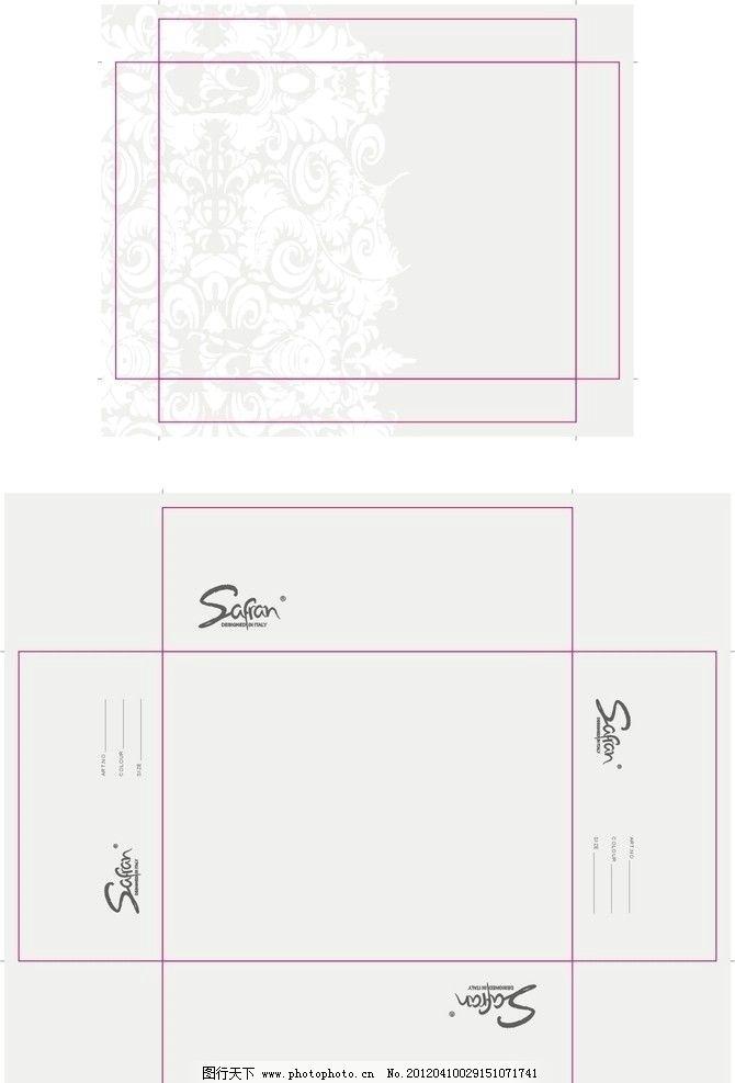 鞋盒包装 鞋盒设计 鞋盒 设计 包装设计 广告设计 矢量 cdr 条纹花朵