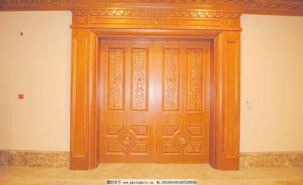 欧式门及门套图片