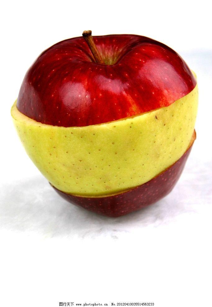 苹果 水果 创意      摄影 红苹果 苹果皮 生物世界 180dpi jpg