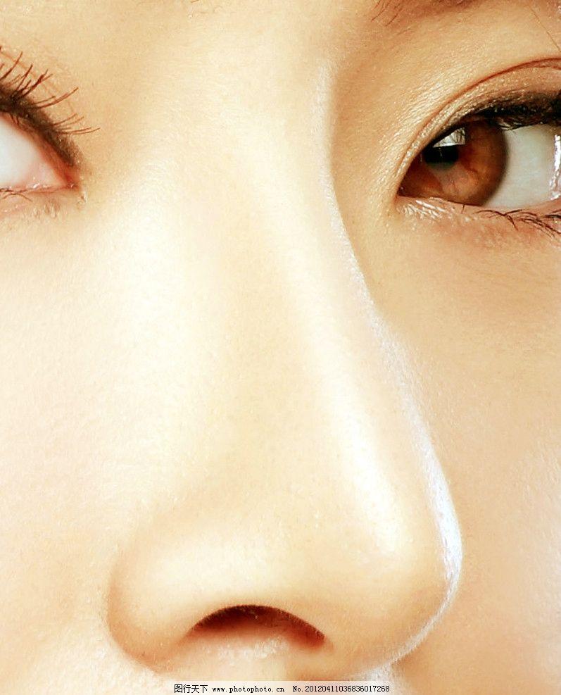 鼻子 鼻 女性鼻子 眼睛 眼神 挺鼻 鼻梁 皮肤 女性鼻子摄影 隆鼻 特写