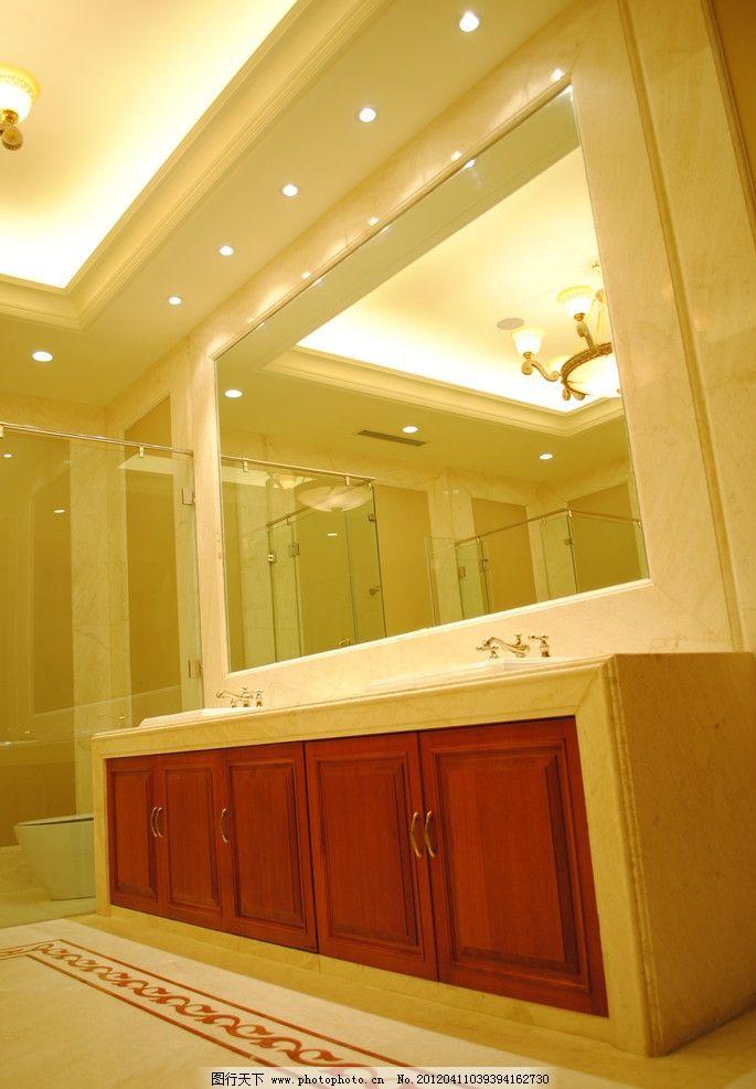 欧式卫生间装潢图片_室内摄影