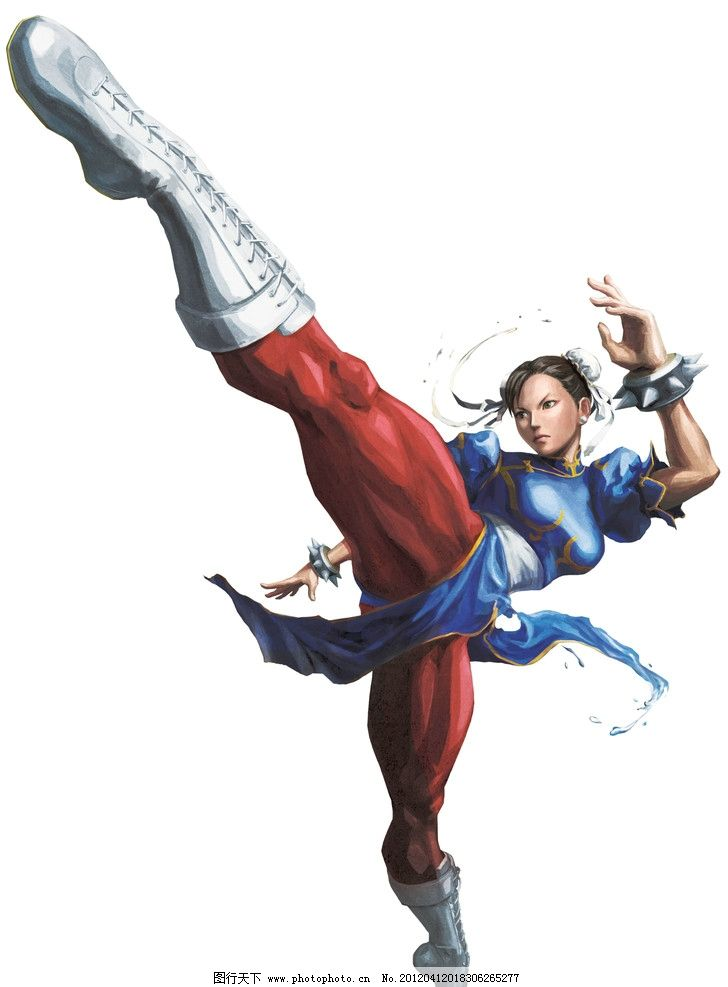 春丽(street fighter系列)