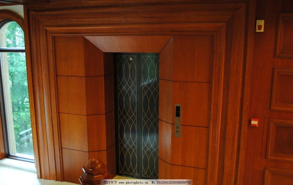 套装潢 欧式 木楼梯 装潢 楼梯扶手 楼梯 木墩 实木 大理石 踏板 电梯