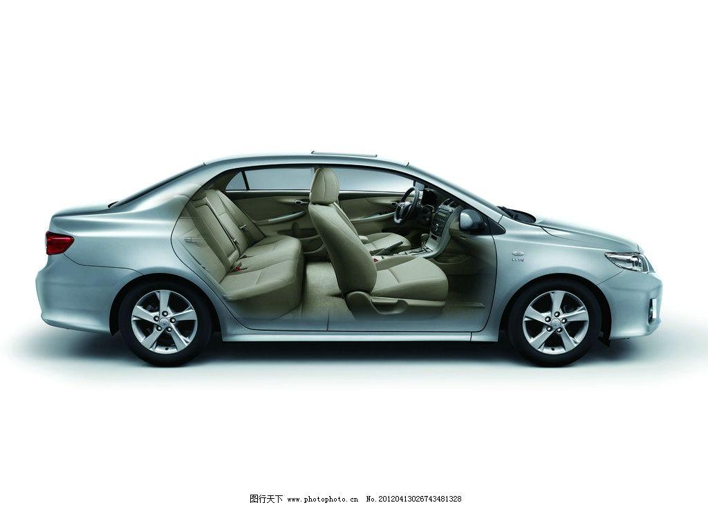 汽车 丰田车 汽车内部 座椅 一汽丰田车