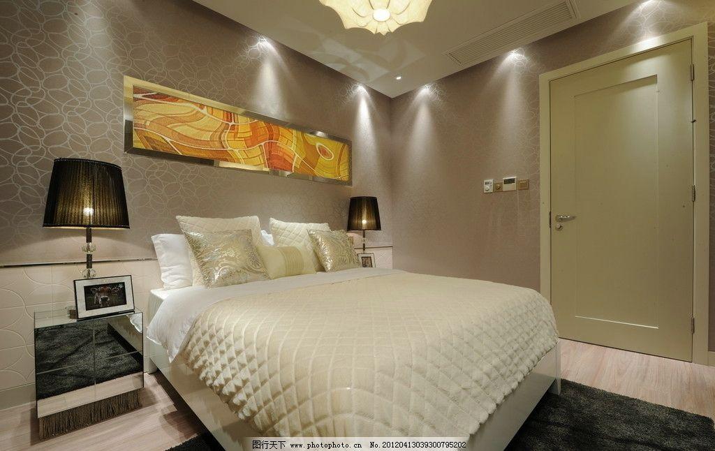 精装样板房卧室 精装 客厅 餐厅 吊灯 卫生间 浴缸 淋雨隔断 大理石