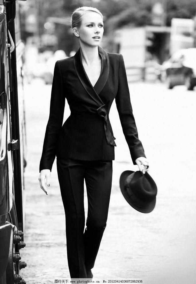 礼帽搭配衣服图片女