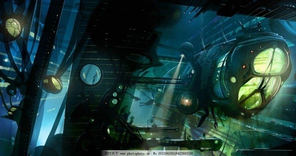 宇宙空间站 机械 空间