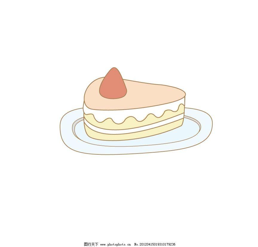 可爱小蛋糕图片