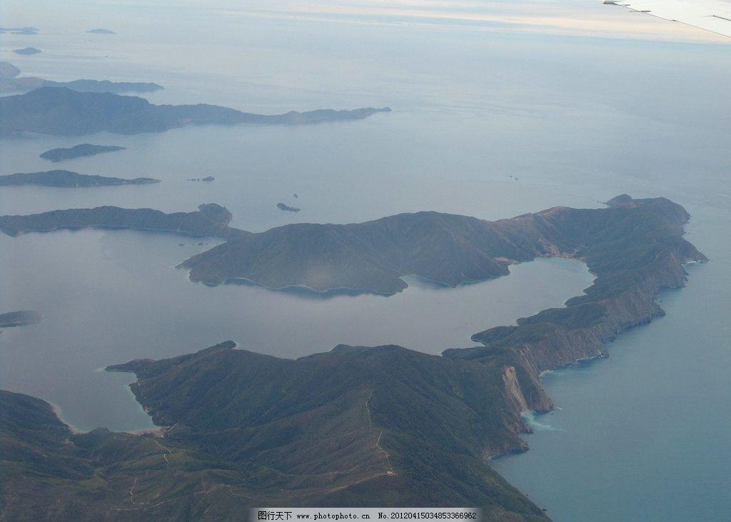 新西兰惠灵顿 海岛 海水 俯瞰 自然风景 自然景观 摄影