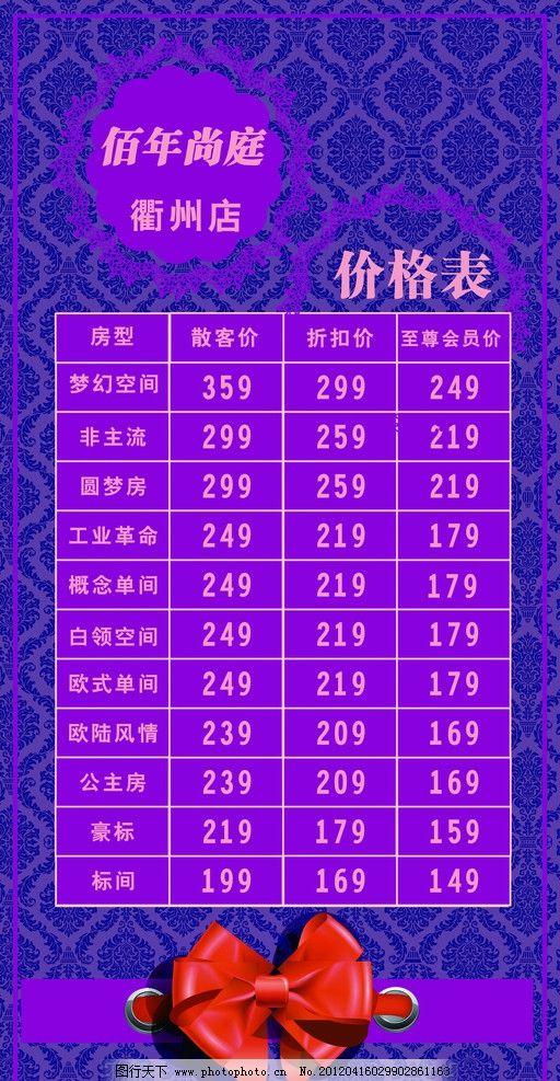 17.18发公主房粉紫色房间装修图片