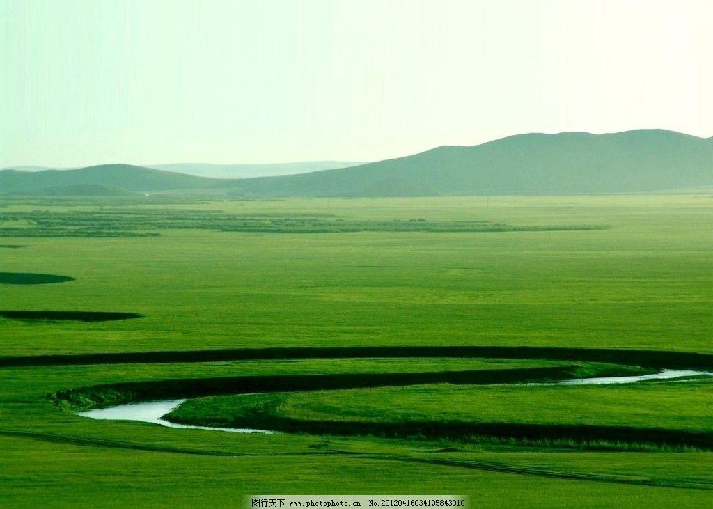 呼伦贝尔草原图片,内蒙 风景 景观 民 蒙古 天空-图行