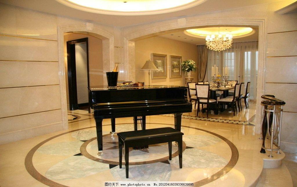 样板房 精装修 室内摄影 装修 装饰 星河湾 钢琴 欧式精品样板房摄影