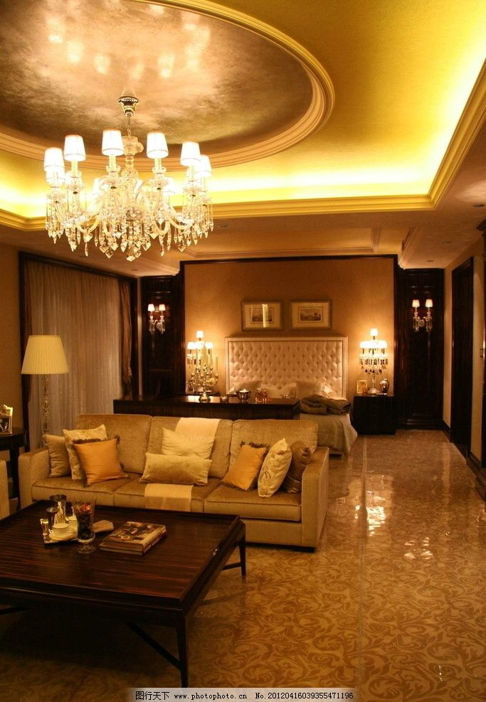 样板房 精装修 室内摄影 装饰 星河湾 客厅 沙发 欧式精品样板房摄影