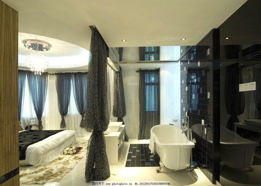 样板房 锦绣豪苑 洗手间 浴缸 精装修 室内摄影 装饰 欧式 欧洲