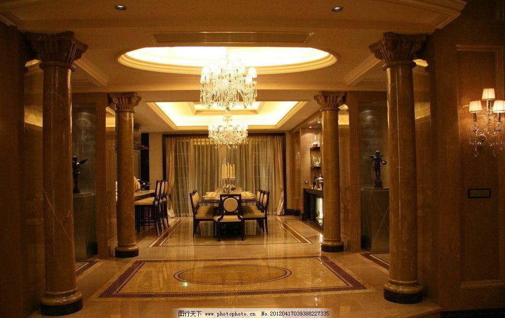 样板房 星河湾 客厅 吊灯 精装修 室内摄影 装饰 欧式 欧洲