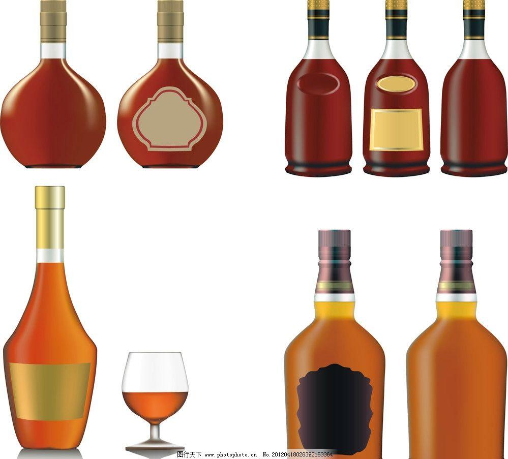 瓶子图片手绘 制作