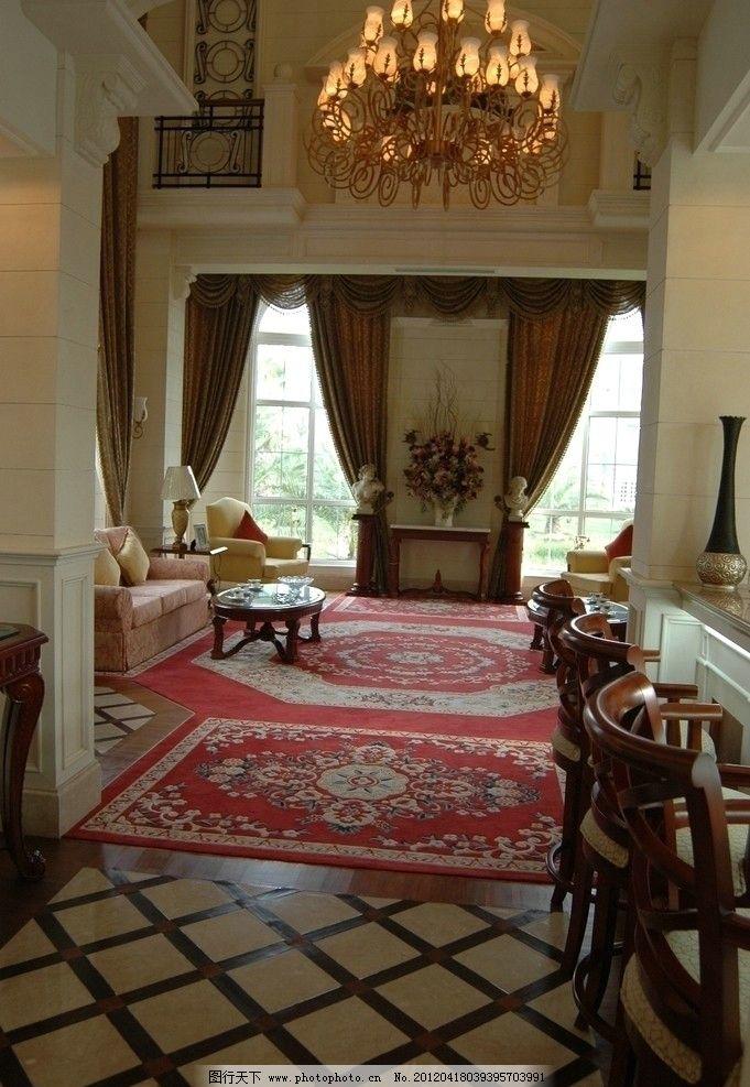 样板房 精装修 室内摄影 装修 上海欧式      地毯 吊灯 沙发 欧式