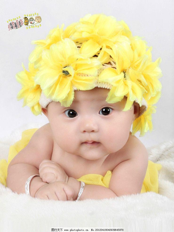 可爱宝贝 女孩 百天照 漂亮宝贝 可爱女孩 儿童 儿童幼儿 人物图库