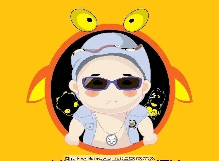 可爱q版卡通宝宝 儿童图片