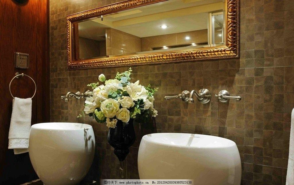 精装样板房洗手池(非高清)图片_室内摄影_建筑园林_图