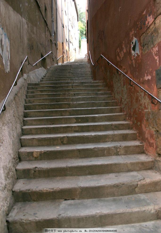 楼梯建筑 楼梯 建筑 石头 台阶 楼房 狭小 建筑摄影 建筑园林 摄影
