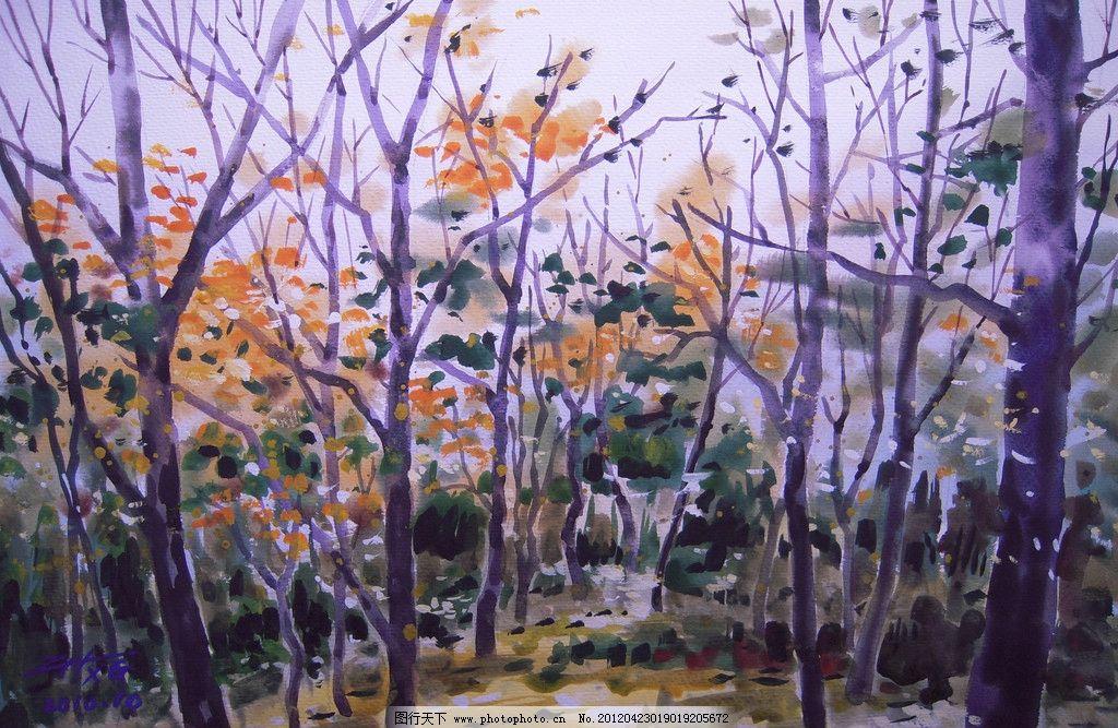 水彩风景 风景水彩 水彩 水彩画 高考 高考水彩 写生 绘画 艺术 设计 水彩作品 大师作品 当代艺术家作品 挂画 名画 世界名画 西方水彩 东方水彩 风景画 风景 景色 树木 植物 绘画书法 文化艺术 300DPI JPG