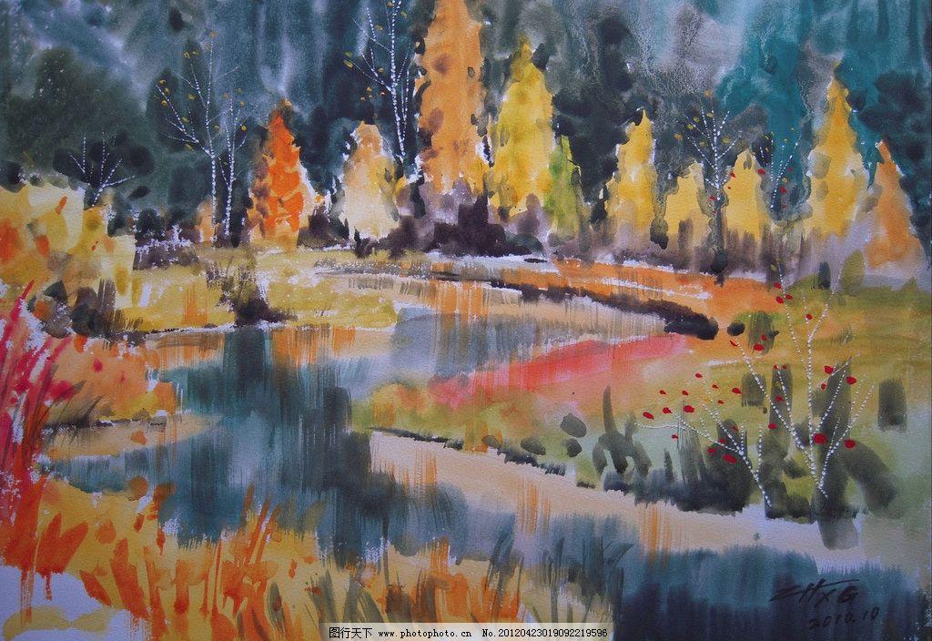 当代艺术家作品 挂画 名画 世界名画 西方水彩 东方水彩 风景画 风景