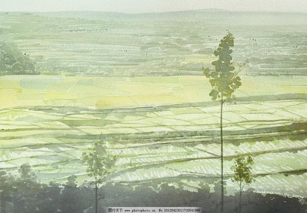 水彩风景 风光 风景画 高考 挂画 绘画 绘画书法 景色 水彩风景设计