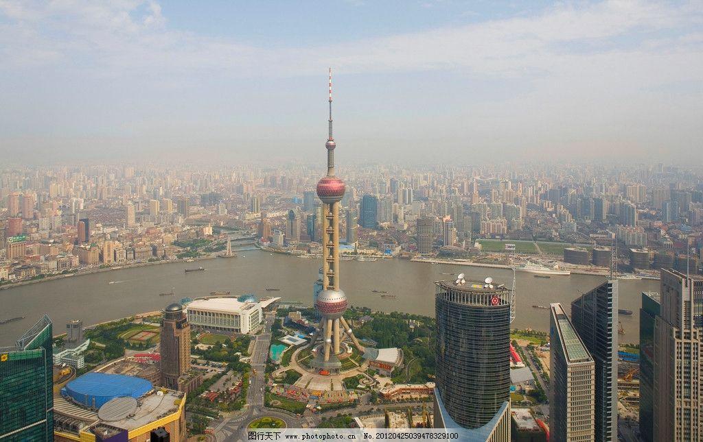 上海外滩 眺望 远眺 远望