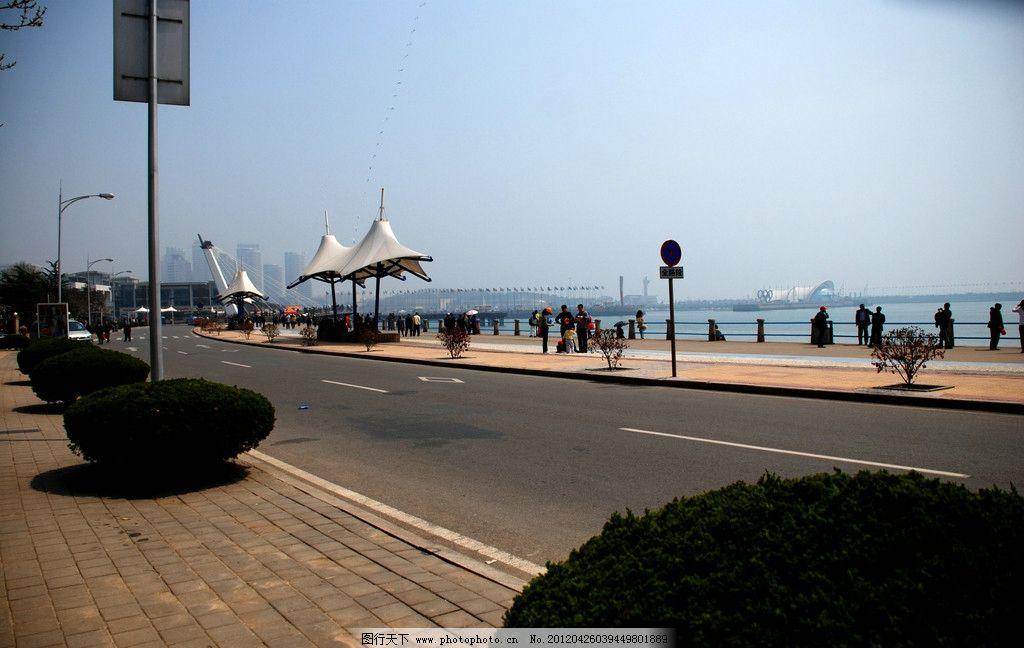 青岛海岸线图片
