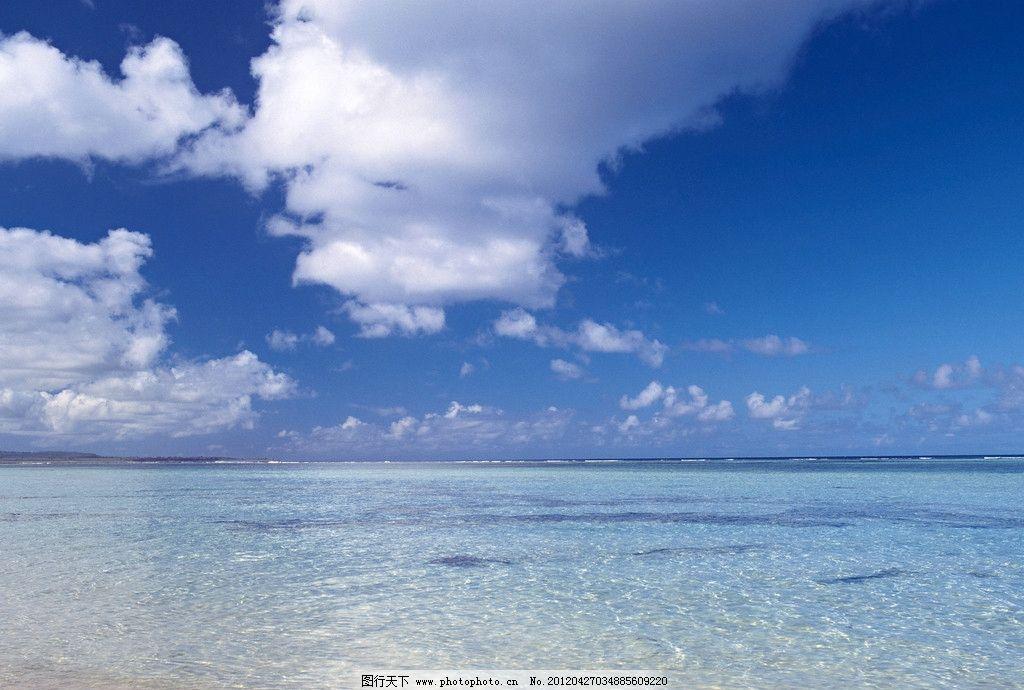 海洋天空图片