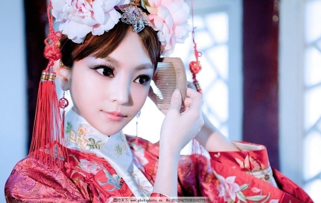 古装美女 明星偶像 人物图库 摄影 300dpi jpg