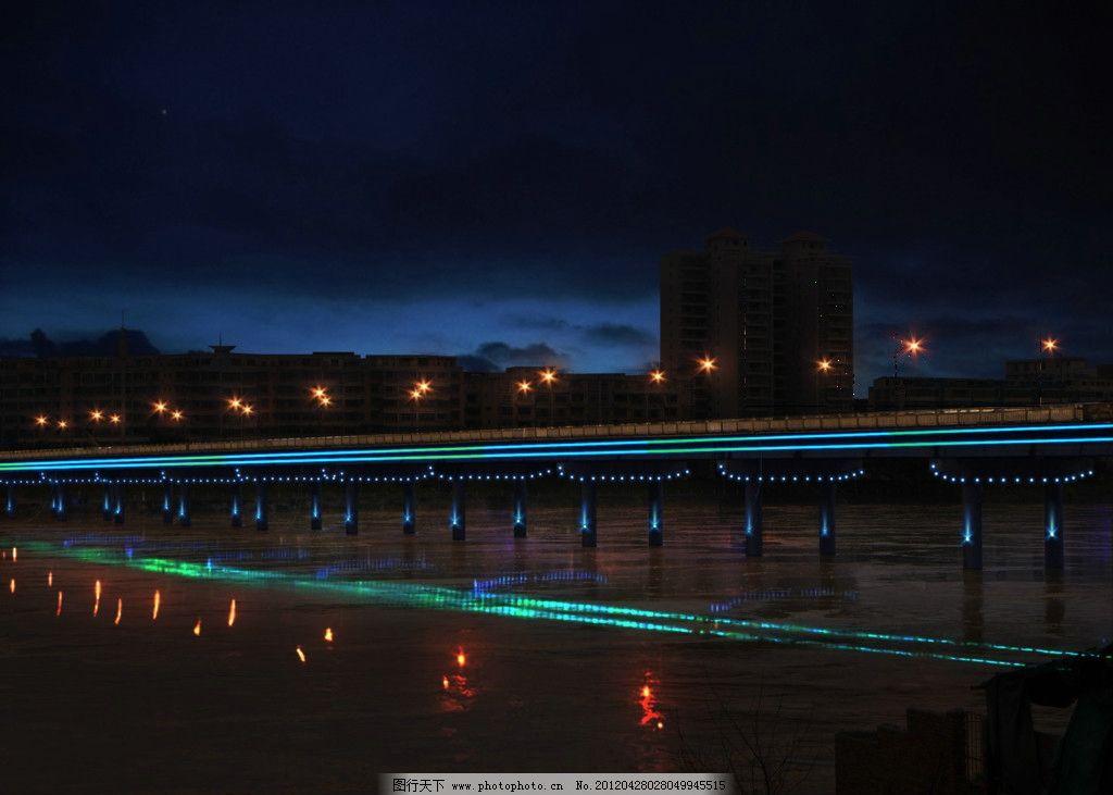 大桥夜景亮化照明设计方案 夜景桥 灯光 光影 于都景观 夜景方案