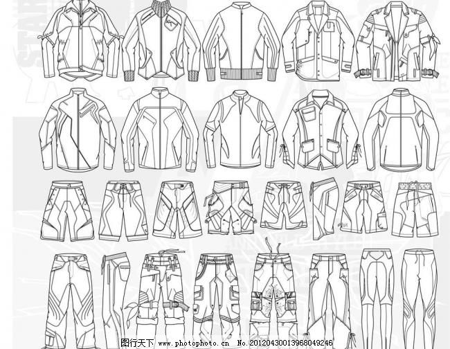 单色 底纹 短裤 服装 服装设计图 服装矢量图 高跟鞋 最新时装设计